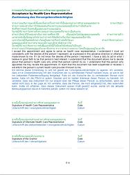 Patientenverfügung in Thailand Seite 8