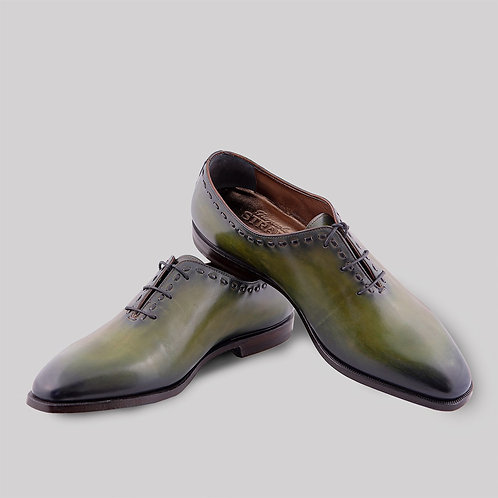 """Туфли """"Оксфорд"""" из кожи"""