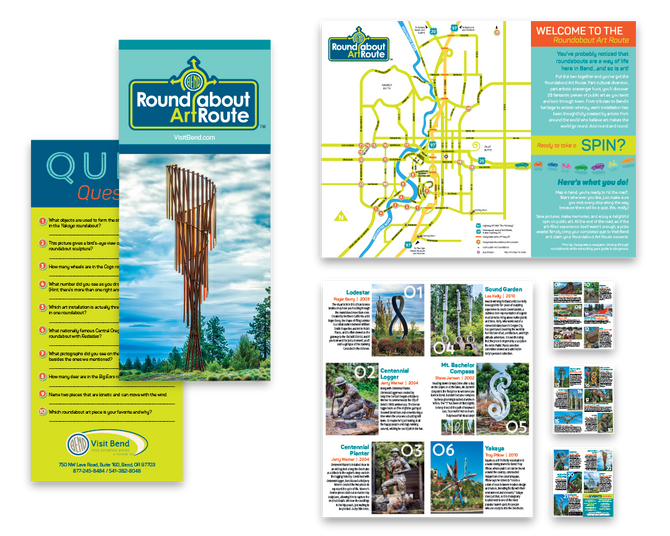 VisitBend.com :: Roundabout ArtRoute Brochure Redesign