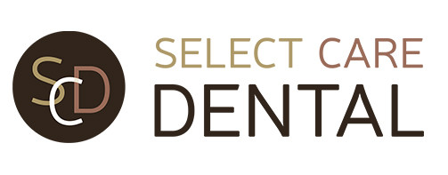 New logo design for Select Care Dental in the Old Mill District