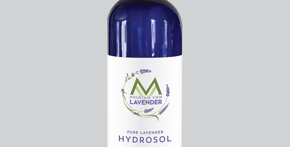 Pure Lavender Hydrosol - 16 oz spray bottle