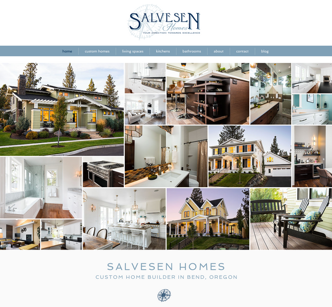 Salvesen Homes :: New Website Design