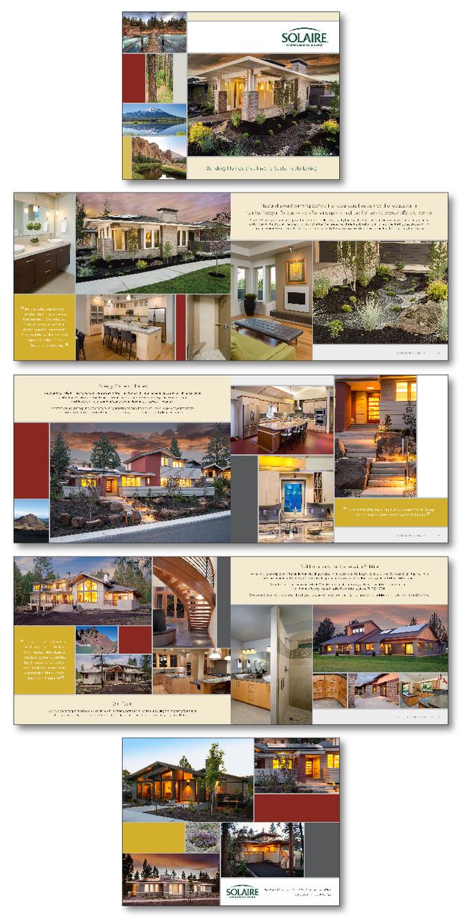 SolAire HomeBuilders Promotional Brochure