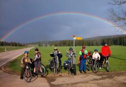 Regenbogen in La Chaux d'Abel