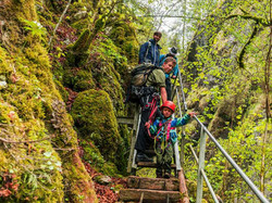 Wandern zum Doubs