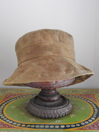 Red Onion Skin Dyed Hat