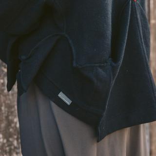 Detail of Repurposed Icebreaker Jacket