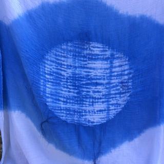 Indigo Stitched Shibori