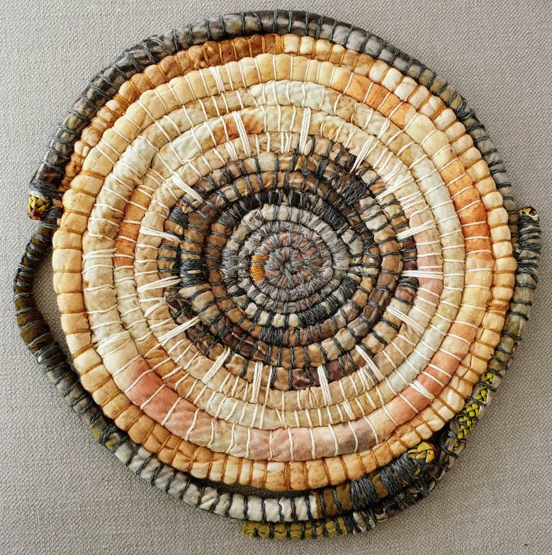 Hidden Core/Wrapped Coiled Platter