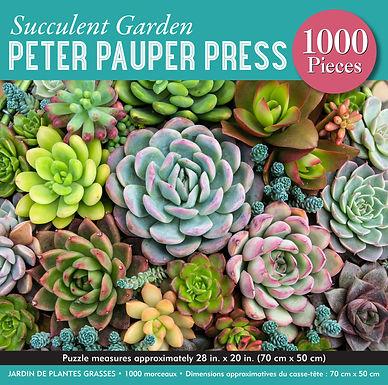 Succulent Garden 1000 pc. Puzzle