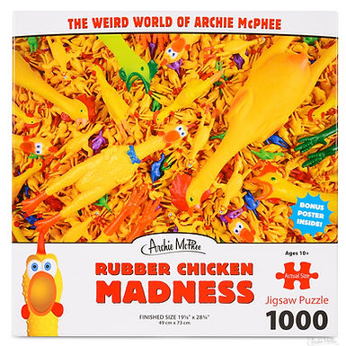 Rubber Chicken Madness 1000 pc. Puzzle