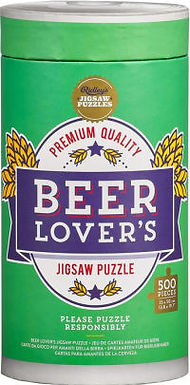 Beer Lovers 500 pc. Puzzle