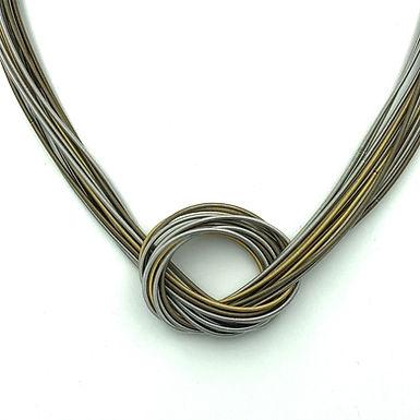 Multi-strand Knot Necklace
