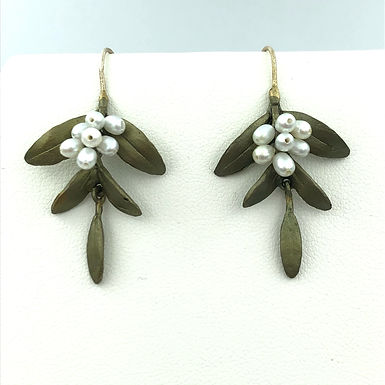 Flowering Myrtle Earrings