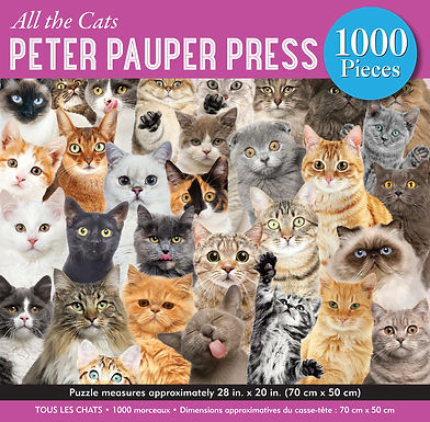 All the Cats 1000 pc. Puzzle
