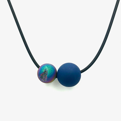 Double Ball Necklace