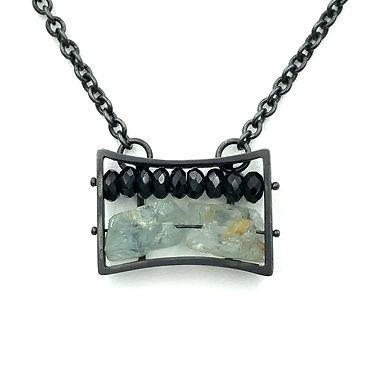 Horizontal Frame Necklace