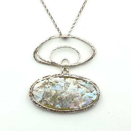 Double Oval Necklace