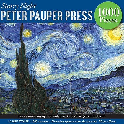 Starry Night 1000 Piece Puzzle
