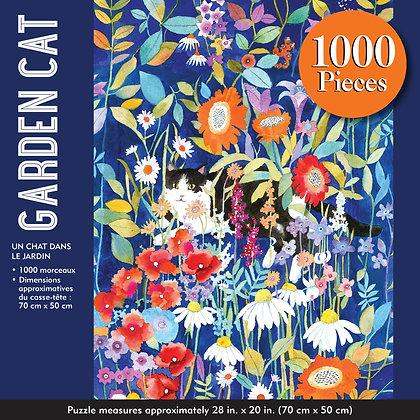 Garden Cat 1000 pc. Puzzle