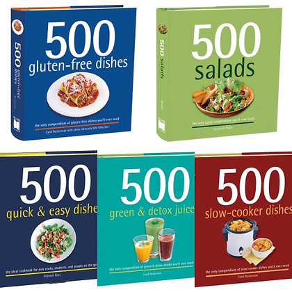 500 Recipes Cookbooks