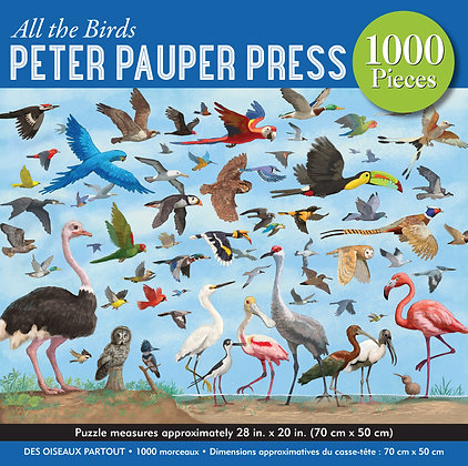 All the Birds 1000 pc. Puzzle