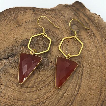 Midnight Mountain Earrings