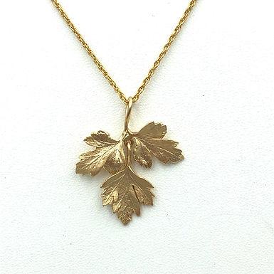 Petit Herb Parsley Necklace