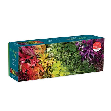 Plant Life Panoramic 1000 pc. Puzzle