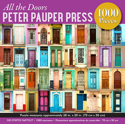 All the Doors 1000 pc. Puzzle