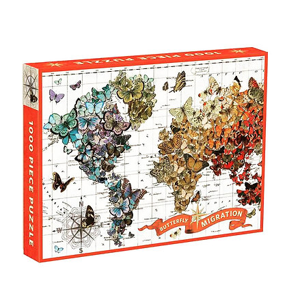 Butterfly Migration 1000 pc. Puzzle