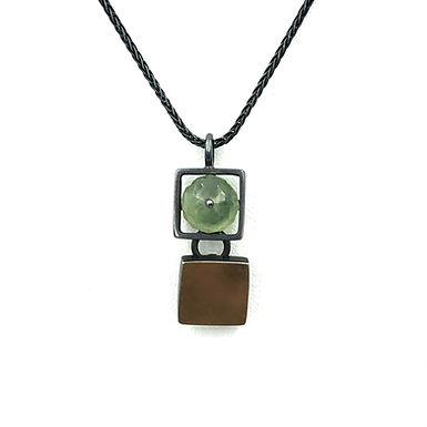 Double Square Necklace