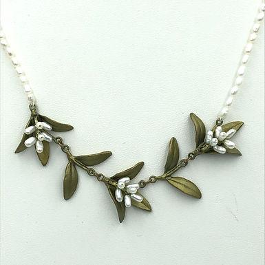 Flowering Myrtle Statement Necklace