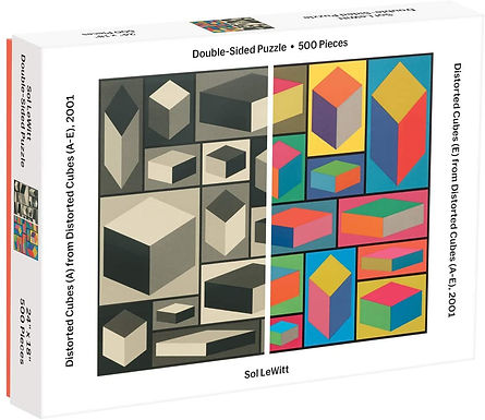 Distorted Cubes Double-sided 500 pc. Puzzle