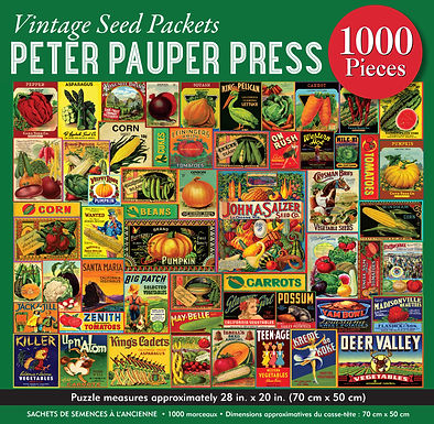 Vintage Seed Packets 1000 pc. Puzzle
