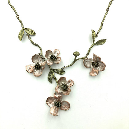 Dogwood Statement Necklace
