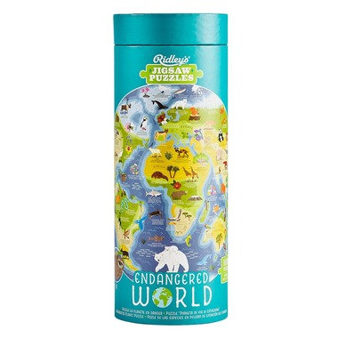 Endangered World 1000 pc. Puzzle