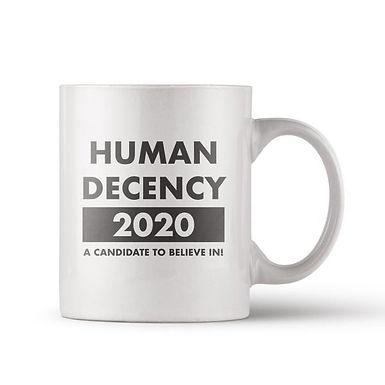 Human Decency Mug