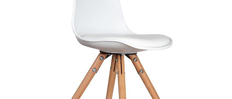 Chaise mini scandinave blanc