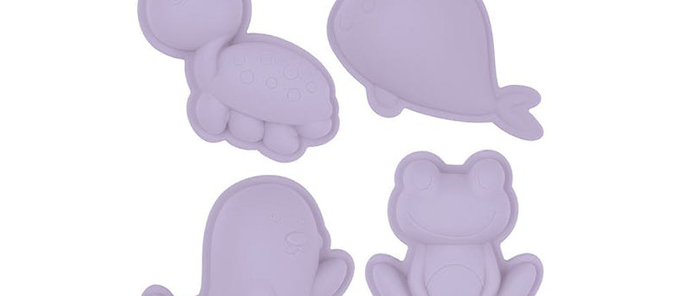 Moules silicone lilas SCRUNCH