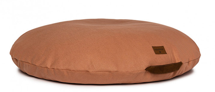 Coussin de sol Sahara sienna brown