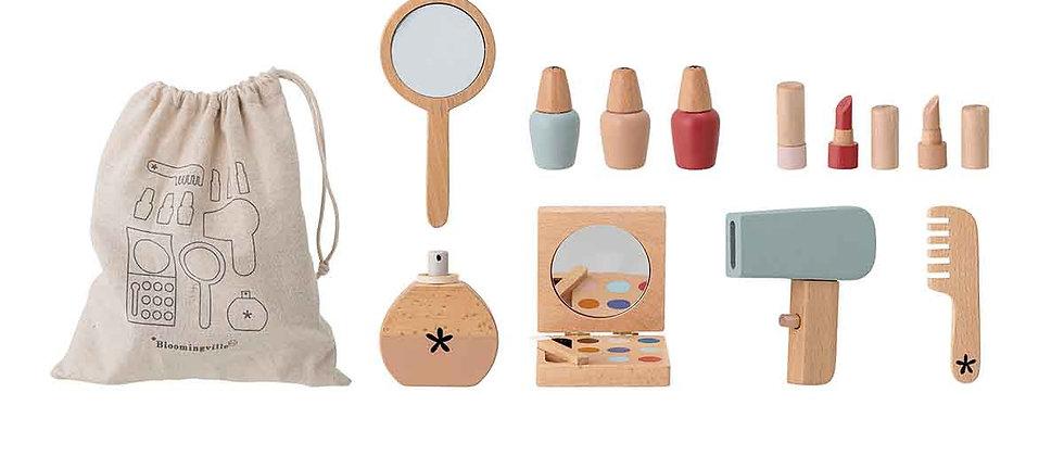 Daisy Toy Make-up set, Nature, Beech