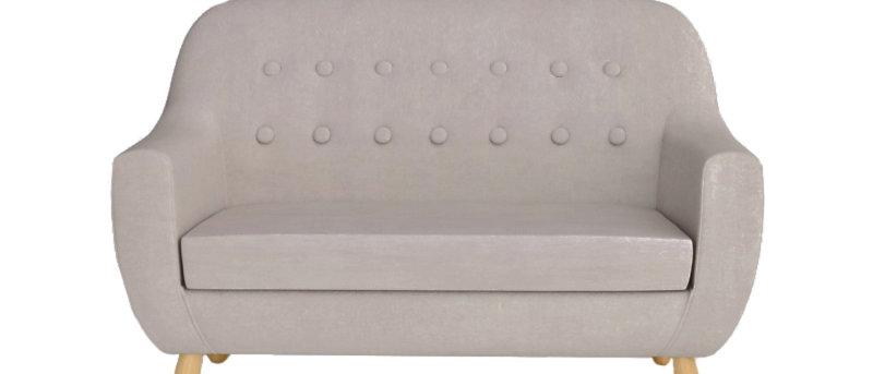 Sofa mini velour beige