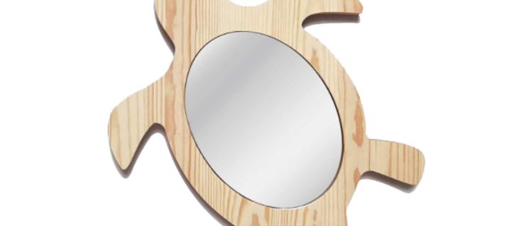 Miroir tortue