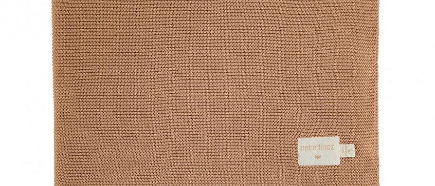 Couverture en tricot So Natural • biscuit