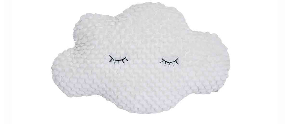 Windy Cushion, White, Polyester
