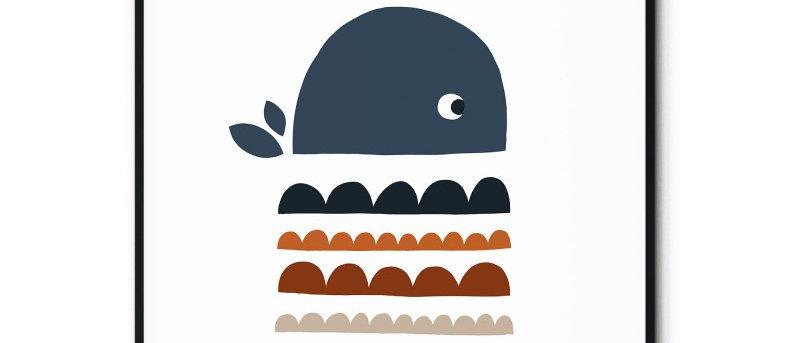 Affiche Baleine n°1