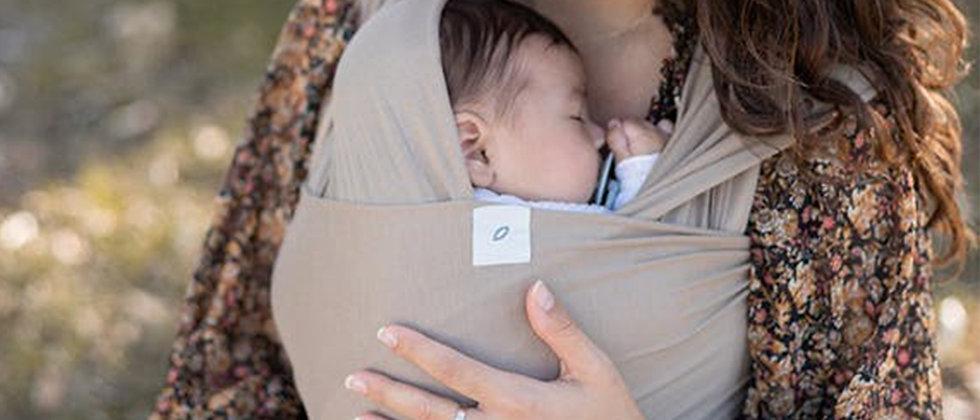 Porte-bébé Taupe MARTHA PEACH