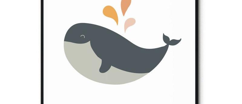 Affiche Baleine n°2