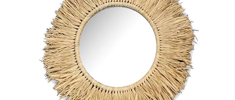 Miroir naturel Efia 24cm